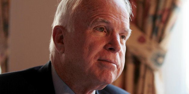 DAVOS, SWITZERLAND - JANUARY 23: United States' (US) Senator and former US presidential candidate John McCain says that the t