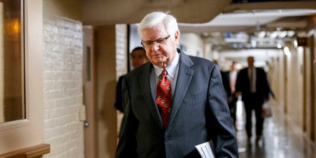 House Appropriations Committee Chairman Rep. Hal Rogers, R-Ky. walks through a basement corridor on Capitol Hill in Washingto