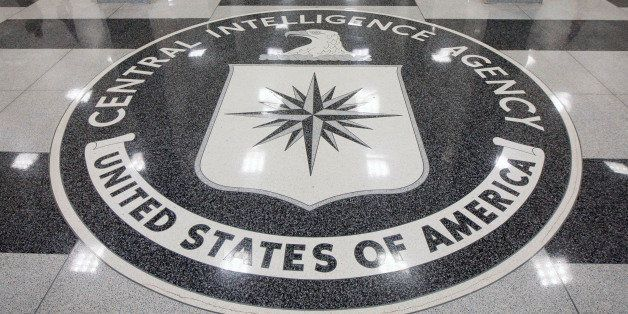 UNITED STATES - SEPTEMBER 18:  The seal of the Central Intelligence Agency is displayed in the foyer of the original headquar