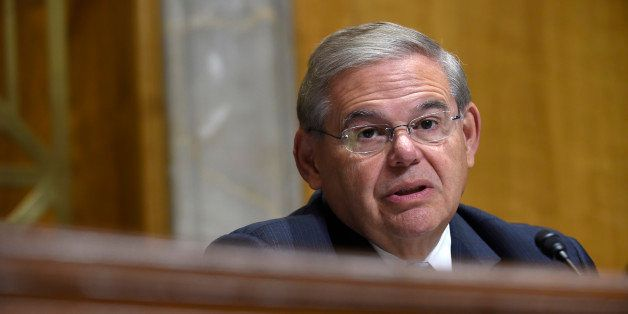 Senate Foreign Relations Committee Chairman Sen. Robert Menendez, D-N.J., questions State Department Undersecretary for Polit
