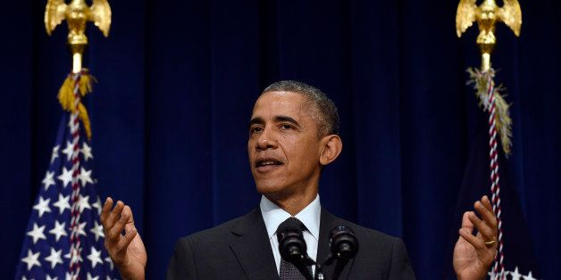 President Barack Obama speaks at the White House Summit on Early Education held in the South Court Auditorium on the White Ho