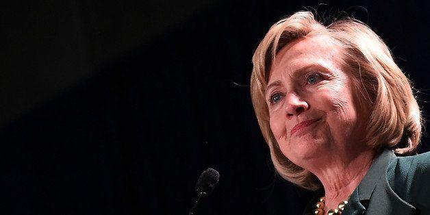 NEW ORLEANS, LA - NOVEMBER 01:  Former U.S. Secretary of State Hillary Clinton campaigns for U.S. Sen. Mary Landrieu (D-LA) d