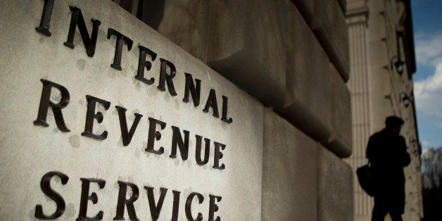 The Internal Revenue Service (IRS) headquarters strands in Washington, D.C., U.S., on Wednesday, April 9, 2014. The deadline
