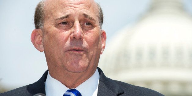 UNITED STATES - JULY 16: Rep. Louie Gohmert, R-Texas, speaks during a news conference at the House Triangle announcing the fo