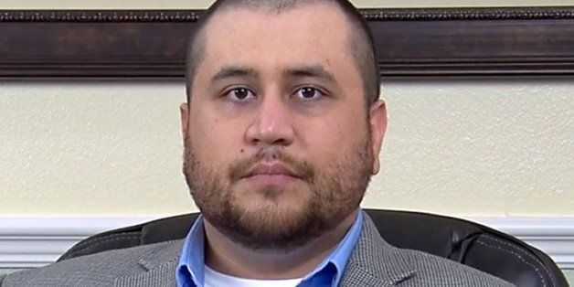 This image taken from a video released by attorney Howard Iken on Wednesday, March 12, 2014, shows George Zimmerman, the form