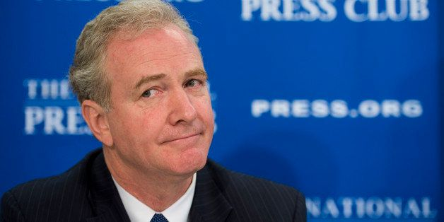 UNITED STATES - JUNE 17: Rep. Chris Van Hollen, D-Md., participates in the National Press Club Newsmaker Program with Sen. Ro