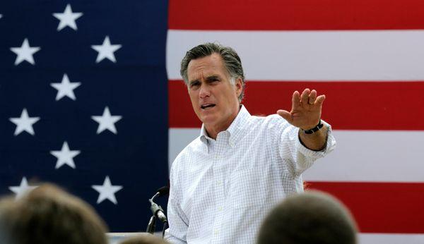 "In June 2013, Romney <a href=""http://jalopnik.com/mitt-romney-trades-in-mustang-for-15-passenger-van-in-w-608887598"" target="""