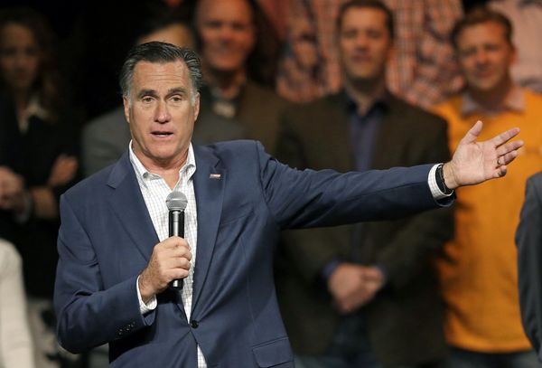 "While waiting for approval to build a separate mansion in La Jolla, California, Romney <a href=""http://www.forbes.com/sites/z"