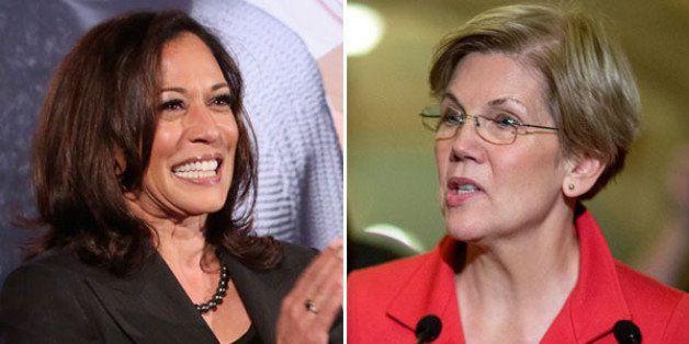 Elizabeth Warren Backs Kamala Harris In California Senate