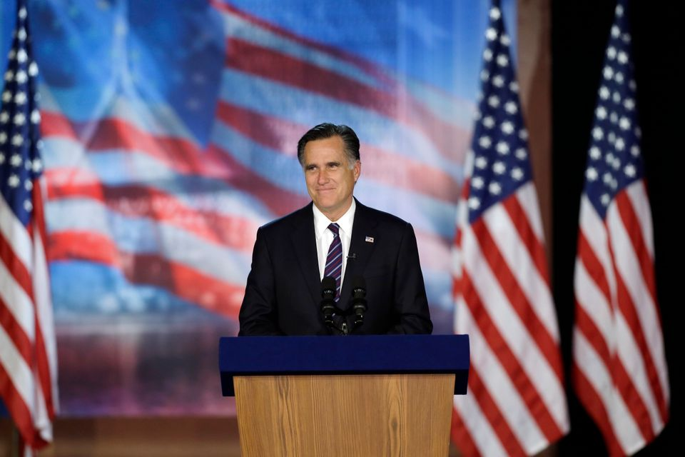 Days after losing the election to Obama, Romney and his wife Ann went to the movies in Del Mar, California, where they went t