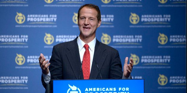 Americans for Prosperity Foundation President Tim Phillips addresses attendees of the Defending the American Dream Summit in