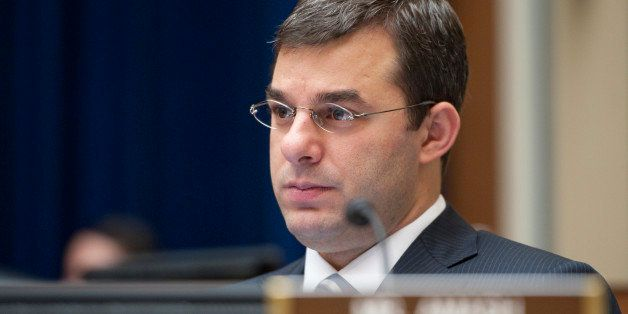 UNITED STATES Ð MAY 10: Rep. Justin Amash, R-Mich., listens during the House Oversight and Government Reform Committee heari