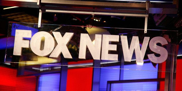 NEW YORK, NY - AUGUST 16:  The FOX News logo at FOX Studios on August 16, 2011 in New York City.  (Photo by Andy Kropa/Getty