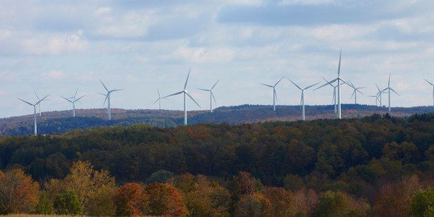 wind energy electricity in New York