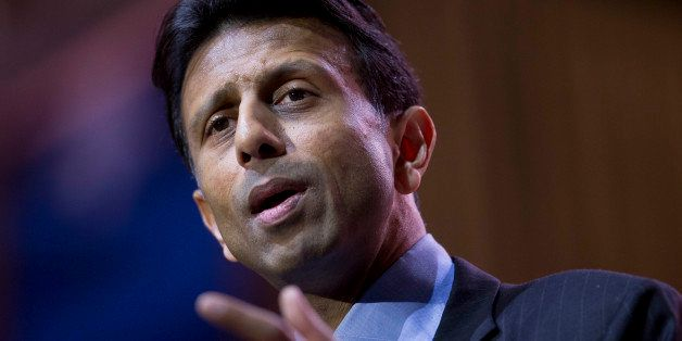 Bobby Jindal, governor of Louisiana, speaks during the Conservative Political Action Conference (CPAC) in National Harbor, Ma