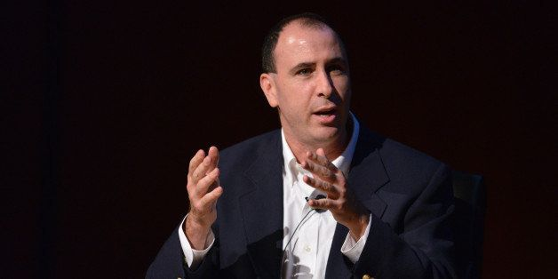 NEW YORK, NY - OCTOBER 18:  Daily Columnist at nymag.com Jonathan Chait speaks during the Coming Republican Crack-Up Panel at