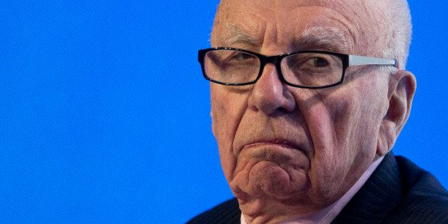 SYDNEY, AUSTRALIA - JULY 17:  Rupert Murdoch, Executive Chairman News Corporation looks on during a panel discussion at the B