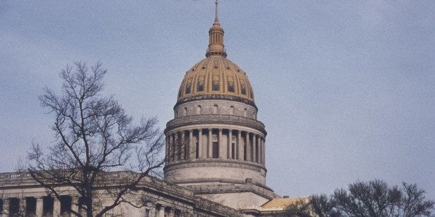 the West Virginia State Capitol in Charleston, West Virginia, USA, circa 1960. (Photo by Archive Photos/Getty Images)