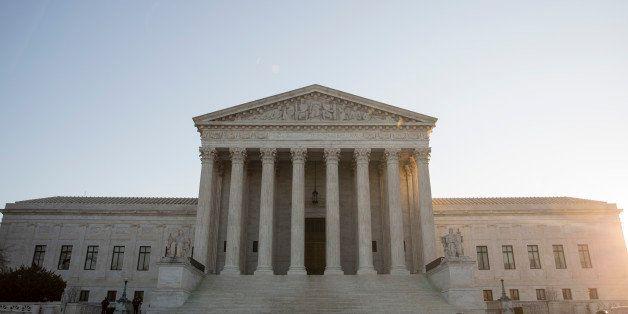WASHINGTON, DC - JANUARY 16: A view of the Supreme Court, January 16, 2015 in Washington, DC. On Friday, the Supreme Court i