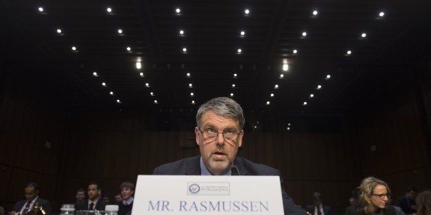 Nicholas Rasmussen, Director of the National Counterterrorism Center, testifies during a US Senate Select Committee on Intell