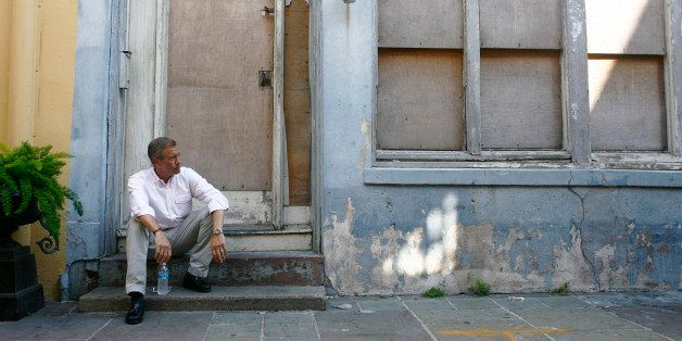 NBC NIGHTLY NEWS WITH BRIAN WILLIAMS -- Pictured: Brian Williams -- NBC News' Brian Williams revisits New Orleans on the occa