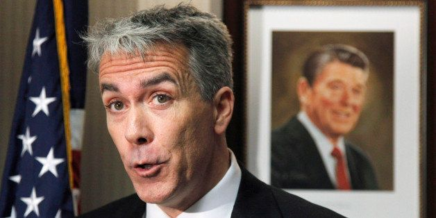 Rep.-elect Joe Walsh, R-Ill. speaks to the media during a news  conference at the GOP headquarters on Capitol Hill in Washing