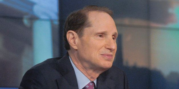 MEET THE PRESS -- Pictured: (l-r)  Sen. Ron Wyden (D-OR) appears on 'Meet the Press' in Washington, D.C., Sunday Dec. 14, 201