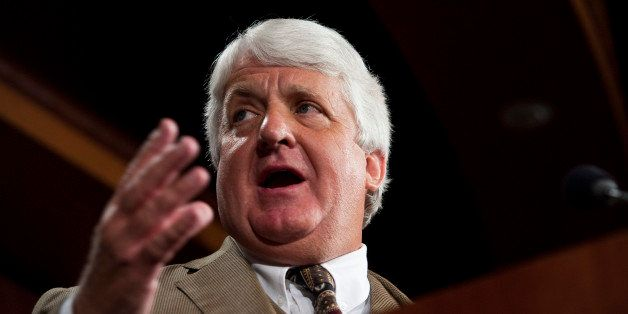 UNITED STATES – OCTOBER 12: Rep. Rob Bishop, R-Utah, participates in a news conference on Wednesday Oct. 12, 2011, to intro