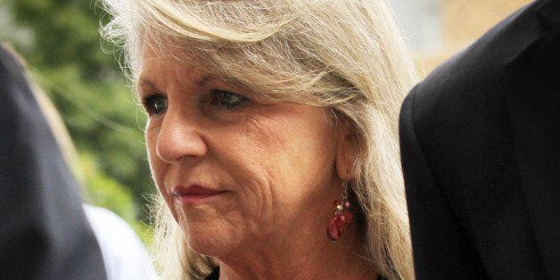 RICHMOND, VA - SEPTEMBER 03:  Maureen McDonnell, wife of former Virginia Governor Robert McDonnell, arrives at her corruption