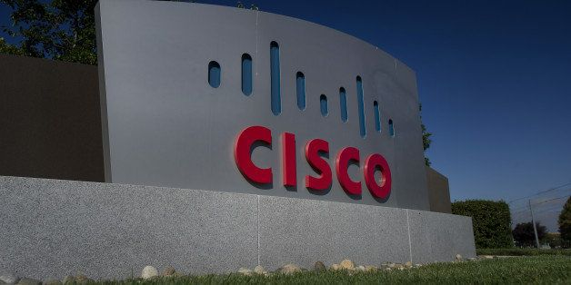 Cisco Systems Inc. signage stands at the company's headquarters in San Jose, California, U.S., on Friday, Aug. 15, 2014. Cisc
