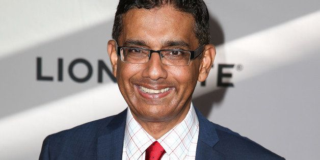 LOS ANGELES, CA - JUNE 30:  Filmmaker Dinesh D'Souza attends the premiere of Lionsgate Films' 'America' at Regal Cinemas L.A.