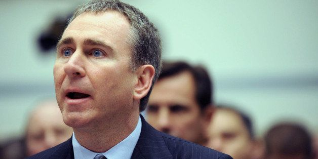 Citadel Investment Group President and Chief Executive Officer Kenneth Griffin testifies on Capitol Hill in Washington, Thurs