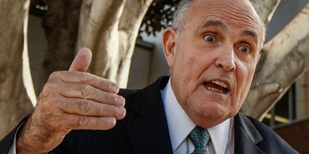Lawyer and former New York City Mayor Rudy Giuliani comments on a lawsuit filed against video game giant Activision by former