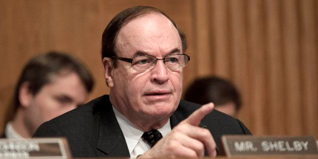 Sen. Richard Shelby, R-Ala., the ranking member of the Senate Banking Committee, questions Consumer Financial Protection Bure