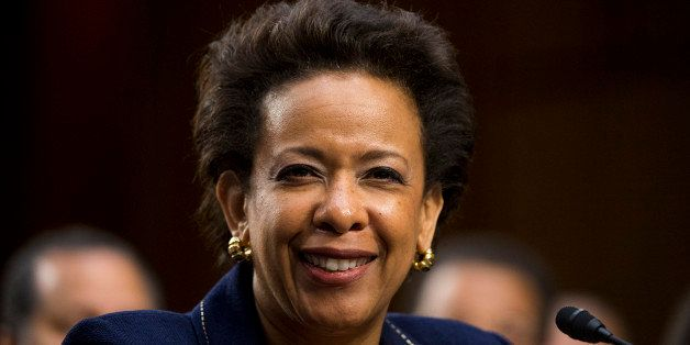 UNITED STATES - JANUARY 28: U.S. Attorney General nominee Loretta Lynch testifies during her confirmation hearing in the Sena
