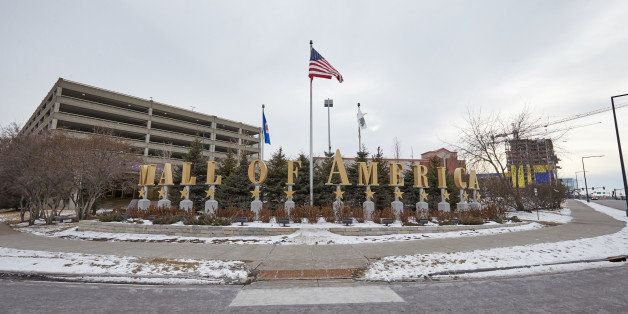 BLOOMINGTON, MN - FEBRUARY 23:   An exterior view of Mall of America during a media tour of its security systems on February