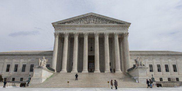 WASHINGTON, USA - FEBRUARY 25: The exterior of the United States Supreme Court in Washington, D.C. on February 25, 2015. (Pho