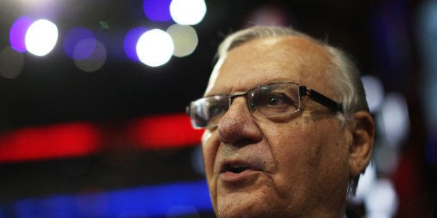 TAMPA, FL - AUGUST 29:  Maricopa County, Arizona Sheriff Joe Arpaio attends the third day of the Republican National Conventi