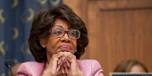 UNITED STATES - SEPTEMBER 24: Rep.Maxine Waters, D-Calif., listens during the House Immigration, Citizenship, Refugees, Borde
