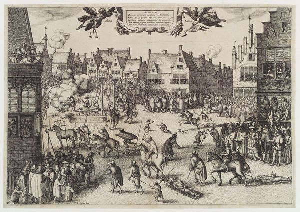 """A punishment for men convicted of high treason, """"hanging, drawing and quartering"""" was used in England from the 13th to 19th c"""