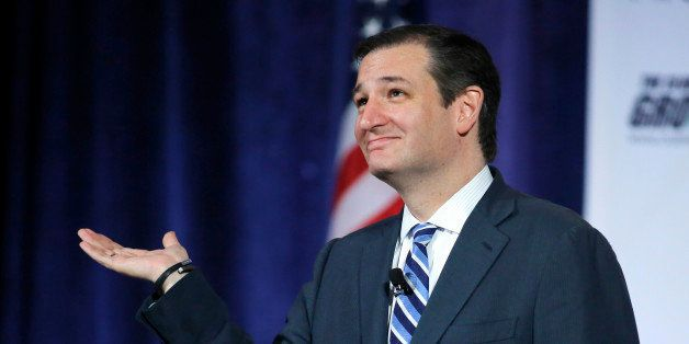 CORRECTS DAY OF WEEK TO FRIDAY - Sen. Ted Cruz, R-Texas, speaks at the Club for Growth's winter economic conference at the Br
