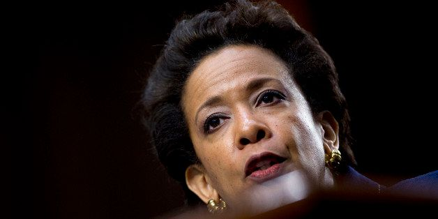 Loretta Lynch, Brooklyn prosecutor and nominee to replace U.S. Attorney General Eric Holder, speaks during a Senate Judiciary