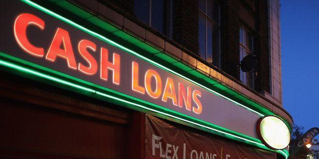 LONDON, ENGLAND - NOVEMBER 01:  A general view of a 'Speedy Cash' cash loans shop on Brixton High Street on November 1, 2012
