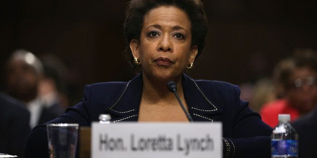 WASHINGTON, DC - JANUARY 28:  U.S. Attorney for the Eastern District of New York Loretta Lynch testifies during a confirmatio