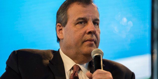 Chris Christie, governor of New Jersey, speaks during the Iowa Ag Summit at the Iowa State Fairgrounds in Des Moines, Iowa, U