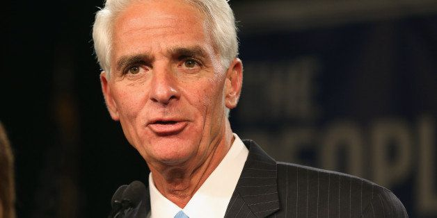 SAINT PETERSBURG, FL - NOVEMBER 04:  Former Florida Governor and Democratic gubernatorial candidate Charlie Crist concedes de