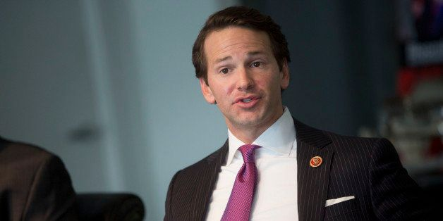 Representative Aaron Schock, a Republican from Illinois, speaks during an interview in Washington, D.C., U.S., on Thursday, J