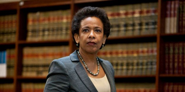 NEW YORK, NY - DECEMBER 11: U.S. Attorney for the Eastern District of New York Loretta Lynch arrives for a news conference to