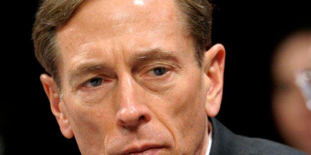 FILE - This Feb. 2, 2012 file photo shows CIA Director David Petraeus testifying on Capitol Hill in Washington. When Defense