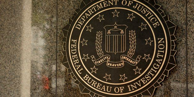 The seal of the Federal Bureau of Investigation (FBI) is seen at the J. Edgar Hoover building in Washington, D.C., U.S., on T